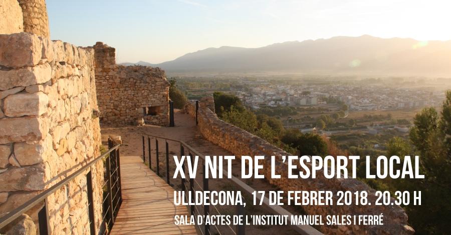 XV Nit de l'Esport Local d'Ulldecona