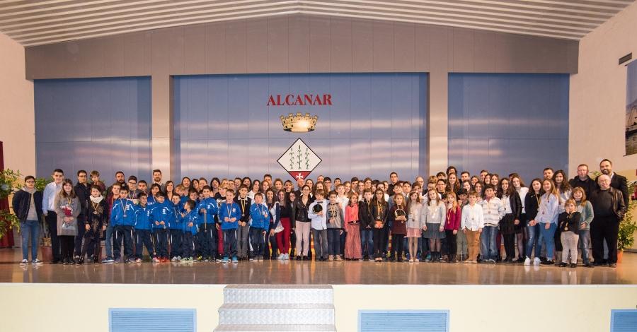 La IV Gala esportiva Canareva i Casenca aplega més de 300 persones