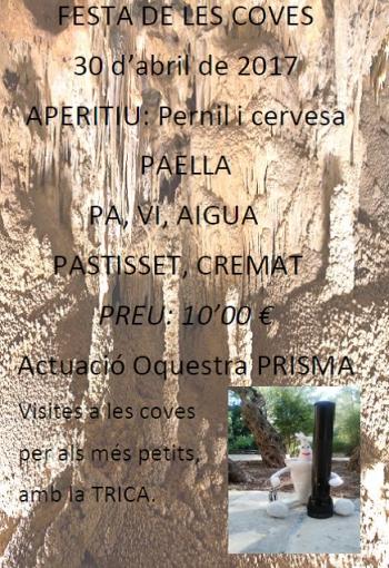 Creix el nombre de visitants a les Coves Meravelles de Benifallet | EbreActiu.cat, revista digital per a la gent activa