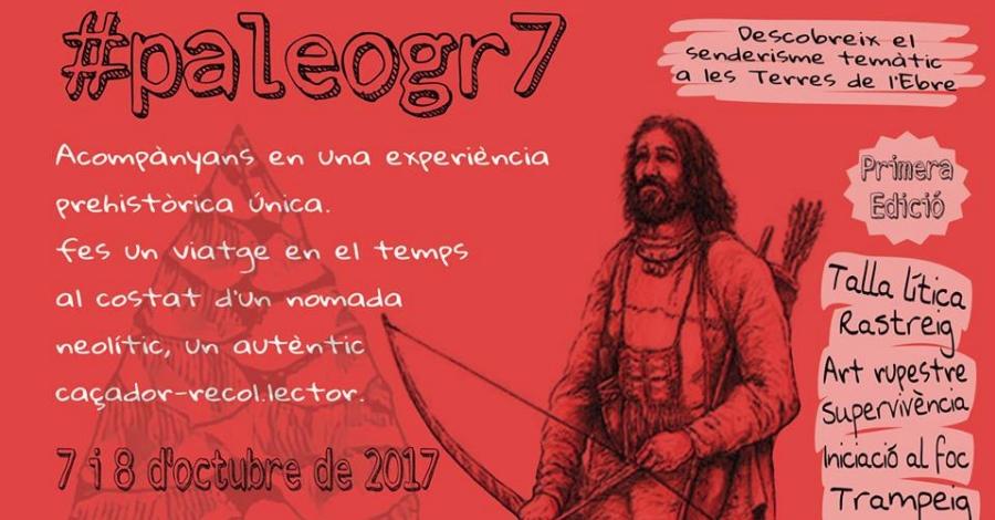 #paleogr7, activitat de senderisme interpretatiu