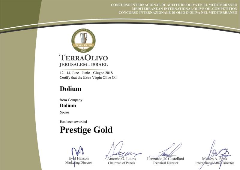 Nou premi per Dolium, l'oli gourmet de la Ribera d'Ebre   EbreActiu.cat, revista digital per a la gent activa   Terres de l