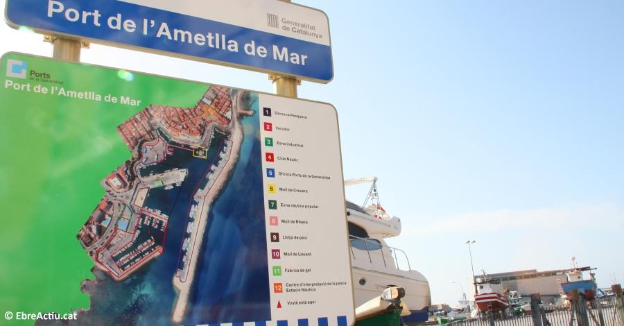Ports de la Generalitat inicia la urbanització de la façana marítima de l´Ametlla de Mar