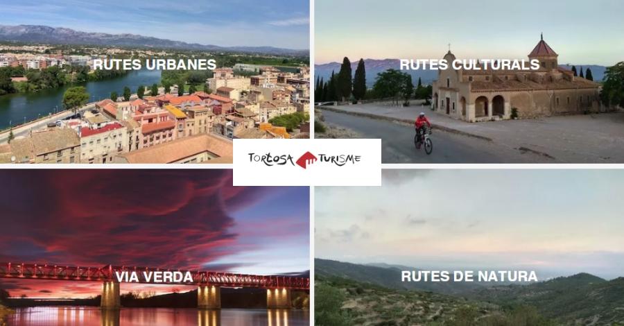 Tortosa Turisme presenta noves rutes cicloturístiques
