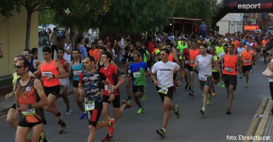 Ouhdadi i Rus guanyen Lo Balcó, la cursa urbana de Camarles