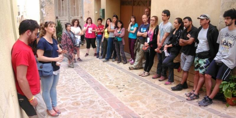 30 estudiants del Màster en Espais Protegits visiten els Ports i el Delta