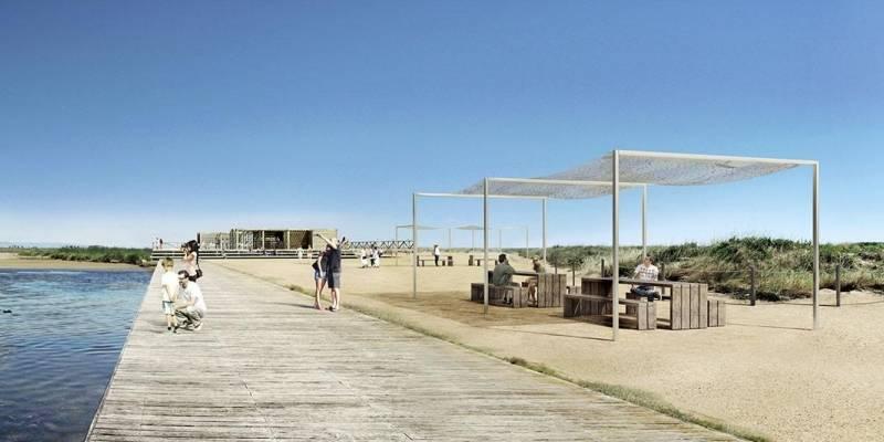 L'Ajuntament de La Ràpita projecta crear una Base Nàutica per a ordenar de la barra del Trabucador