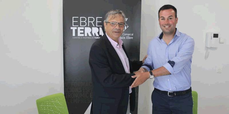 El Consell Comarcal del Baix Ebre i l'Ajuntament de Deltebre signen un conveni de col·laboració per a l'ús d'EbreTerra