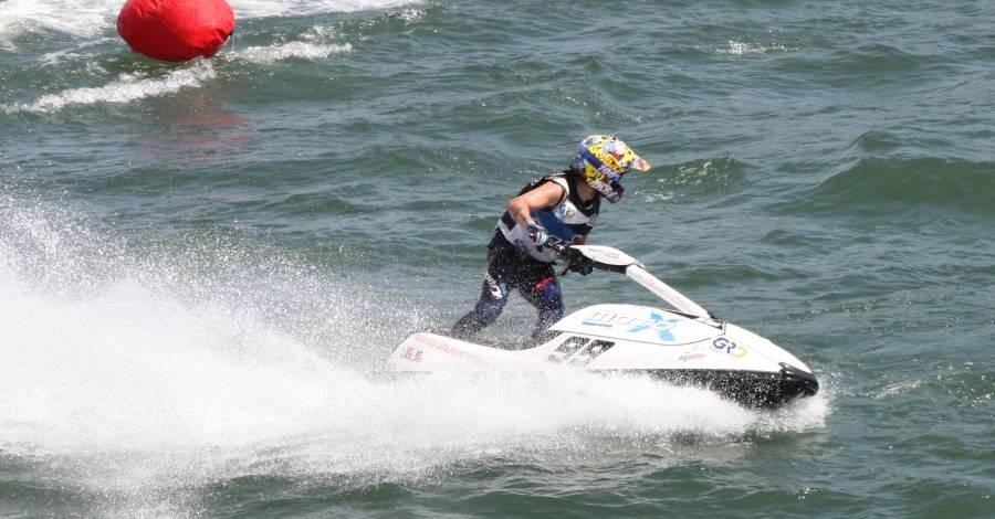 L'ampostí Jordi Tomàs, campió de Catalunya de motos aquàtiques