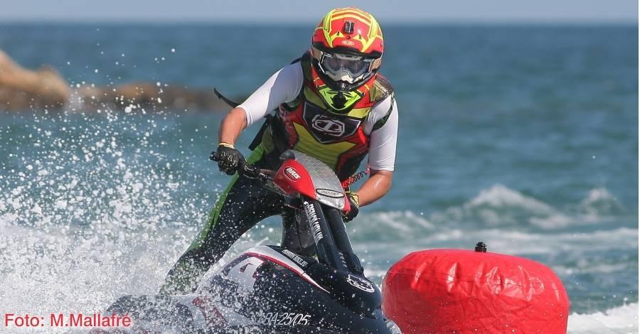 Exitós Campionat de Catalunya de motos aquàtiques a l'Ampolla