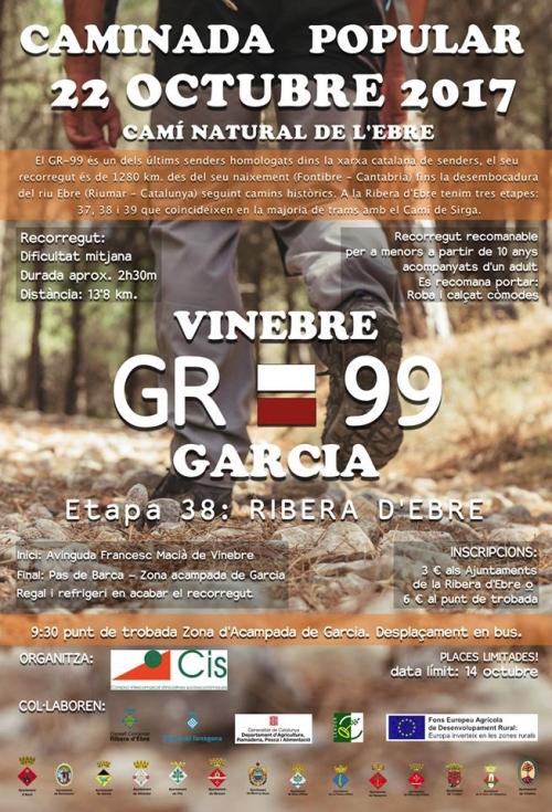 La Ribera d'Ebre organitza la segona Caminada Popular Camí Natural de l'Ebre | EbreActiu.cat, revista digital per a la gent activa