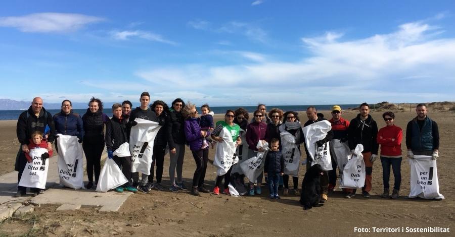 """16.000 persones voluntàries recullen més de 70 tones de residus en l'acció de neteja de la natura """"Let's clean up Europe!"""""""