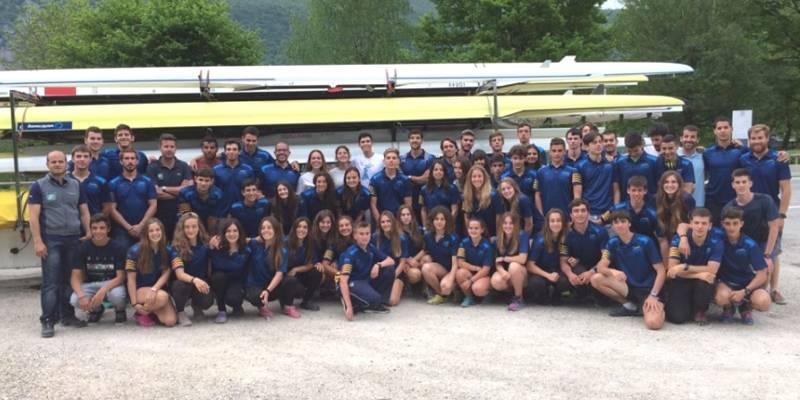 Remers ebrencs aconsegueixen 4 medalles a la Regata Internacional Savoià Mont-Blanc