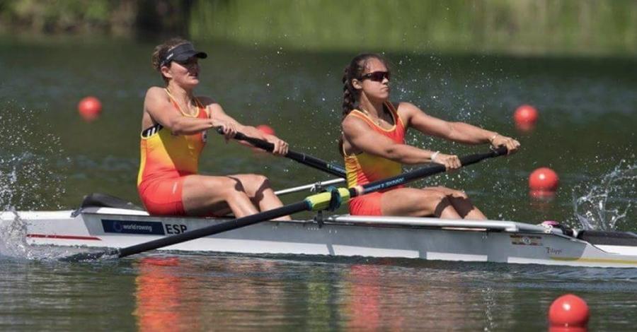 Aina Cid, del Club Nàutic Amposta i Anna Boada, de l'Olímpic de Barcelona, aconsegueixen plaça per a les olimpíades de Rio