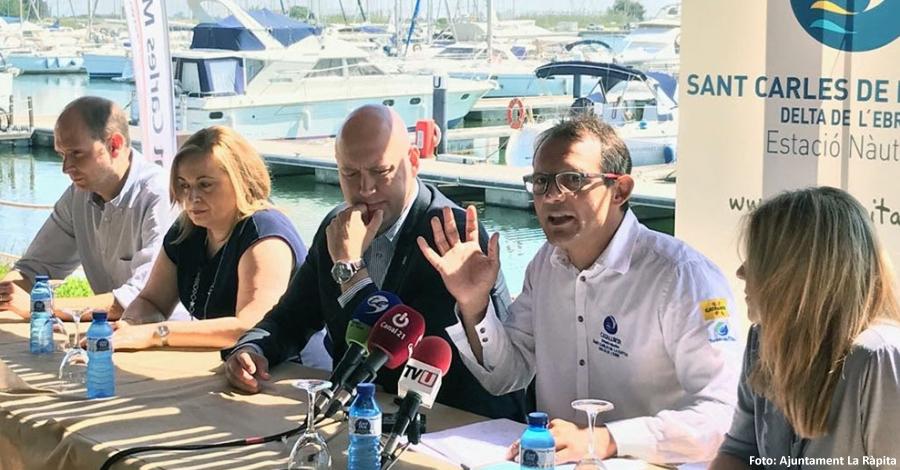 La Festa del Mar de La Ràpita mostrarà els dies 10 i 11 de juny tot el potencial nàutic i turístic de la badia dels Alfacs