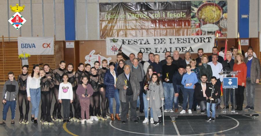 L'Aldea celebra la Festa de l'Esport Aldeà