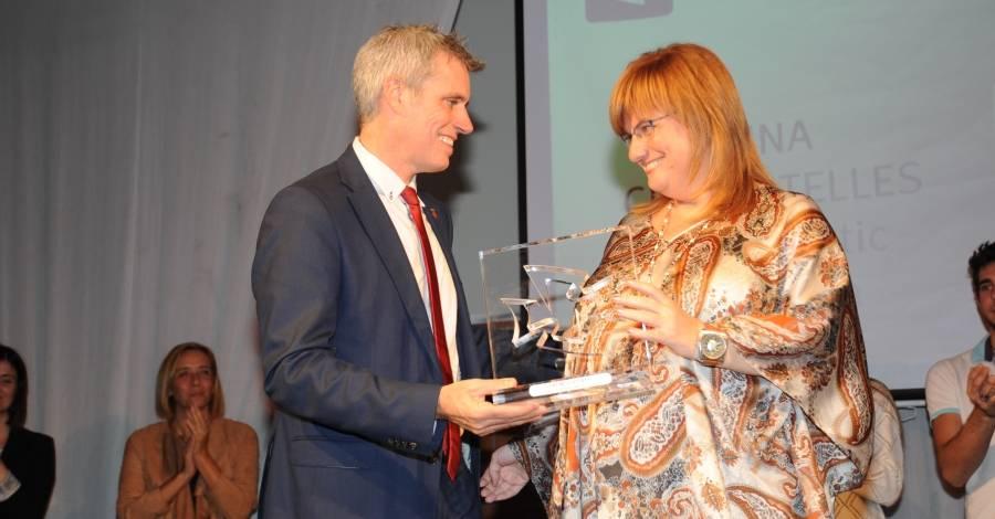 Aina Cid, Premi Esports a la Gala de l'Esport Ampostí 2016
