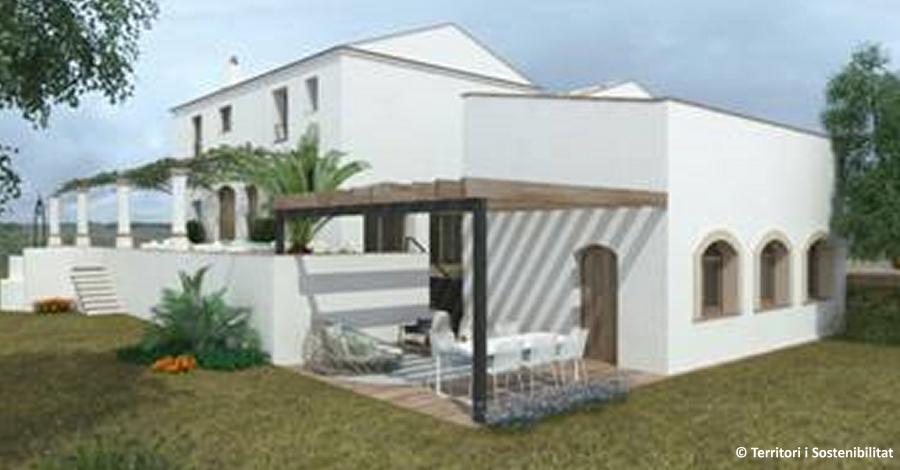 L'antic Mas de Catxina, a Deltebre, acollirà un petit hotel