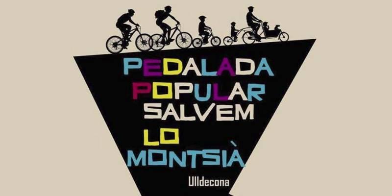 Una bicicletada reivindicativa per salvar la Serra de Montsià