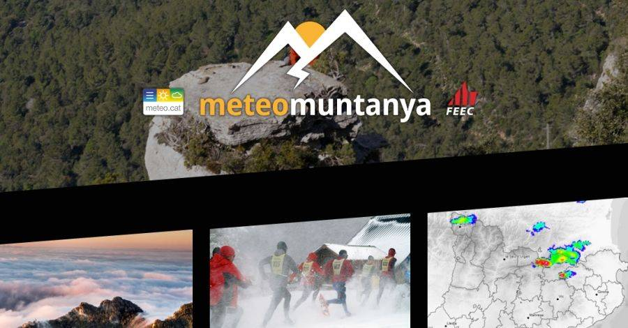 MeteoMuntanya.cat, nou portal web de meteorologia de muntanya