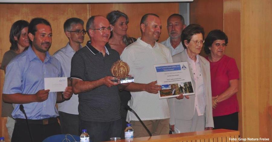 El grup de Natura Freixe de Flix guardonat amb el Premi Natura i Societat de la Fundació Girbau