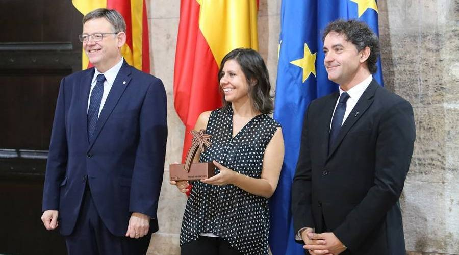 Itinerantur rep un dels sis Premis de Turisme Comunitat Valenciana 2015 | EbreActiu.cat, revista digital per a la gent activa