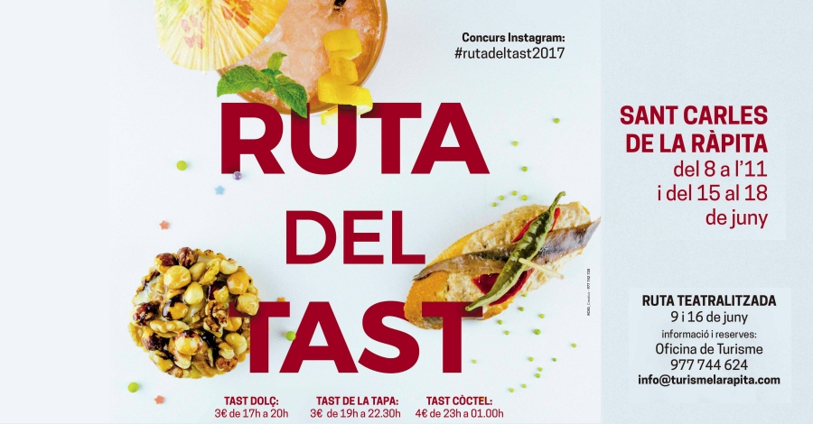 La Ràpita presenta una nova edició de la Ruta del Tast amb tapes salades, dolces i còctels