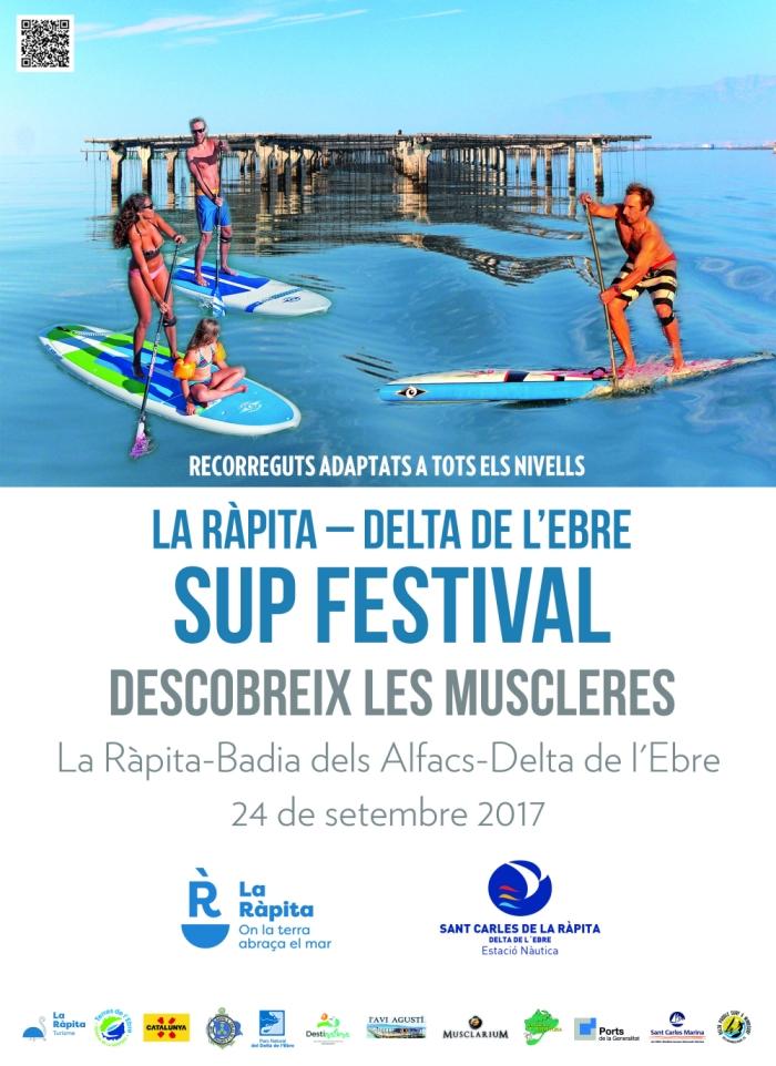 El primer Sup Festival ha de permetre mostrar les possibilitats de la badia dels Alfacs | EbreActiu.cat, revista digital per a la gent activa