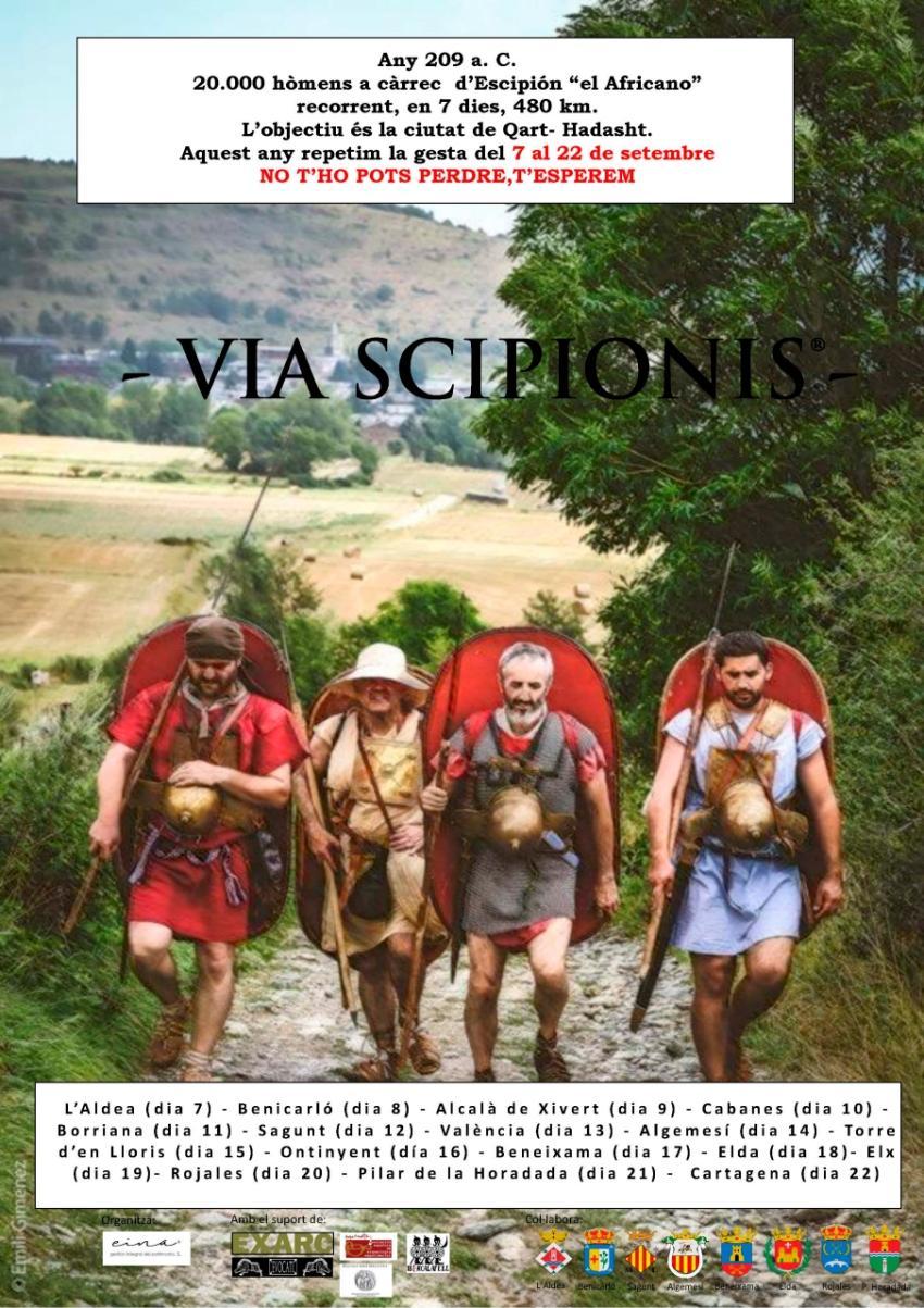 La tercera edició de la Via Scipionis arrencarà de la Torre de la Candela de l'Aldea | EbreActiu.cat, revista digital per a la gent activa