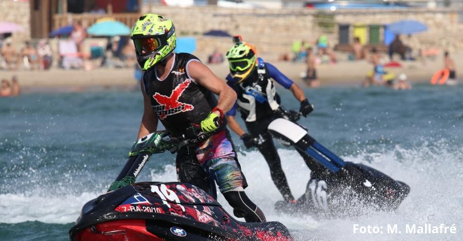 Final del Campionat de Catalunya de Motonàutica a l'Ampolla