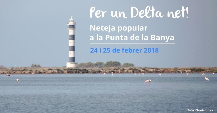 Per un Delta net: Neteja a la Punta de la Banya