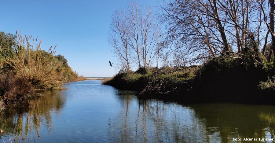 Primers treballs per a fer realitat el Camí fluvial del riu Sénia
