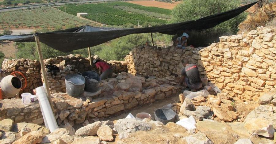 Comencen les obres de conservació i restauració al poblat iber del Puig de la Nau de Benicarló