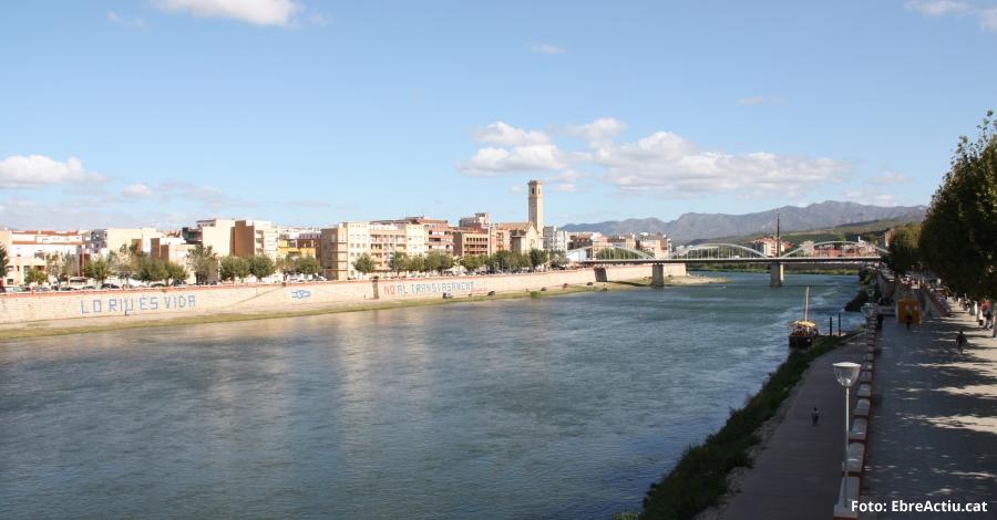 En marxa les obres a l'embarcador de Tortosa per potenciar les activitats al riu