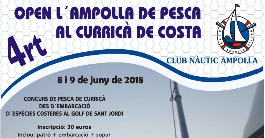 4rt Open l'Ampolla de Pesca al curricà de costa
