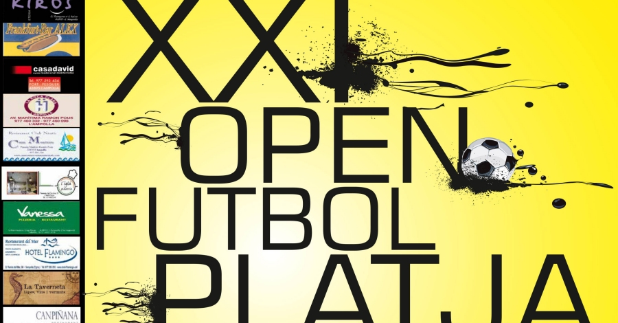 XXI Open de futbol platja Ciutat de l'Ampolla