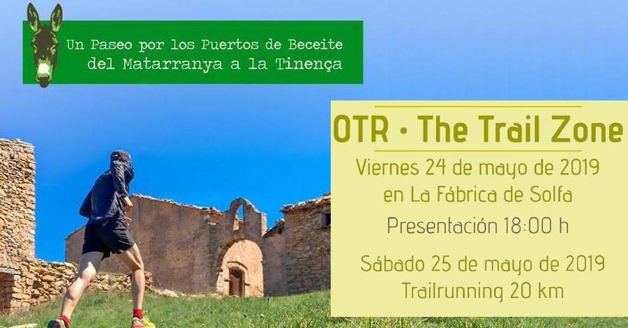 Presentació OTR - The Trail Zone Beseit