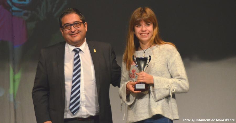 Oxana Bonjorn, millor esportista de Móra d'Ebre de l'any 2017