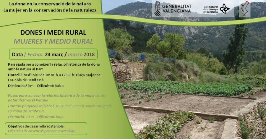 Passejada: Dones i medi rural