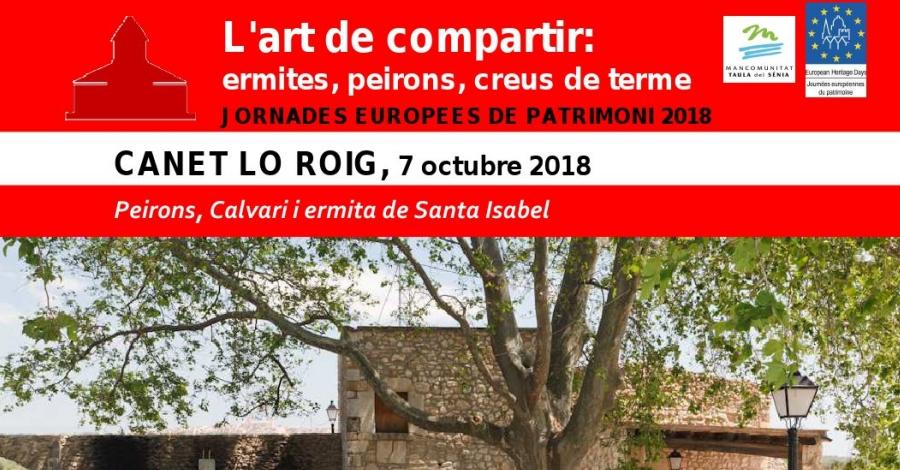 Peirons, Calvari i ermita de Santa Isabel