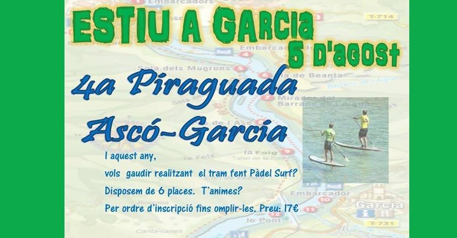4a Piraguada Ascó-Garcia