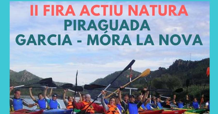 Piraguada Garcia-Móra la Nova. II Fira Actiu Natura