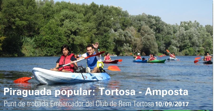 Piraguada popular: Ruta guiada entre Tortosa i Amposta