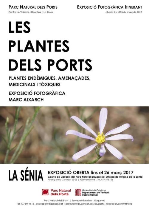 Exposició fotogràfica: Les plantes dels Ports