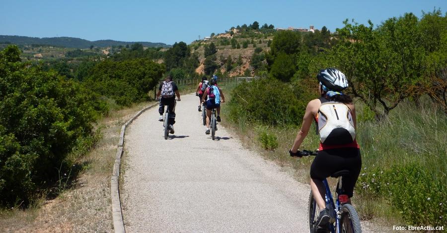 El potencial del cicloturisme i la Via Verda de la Val de Zafán