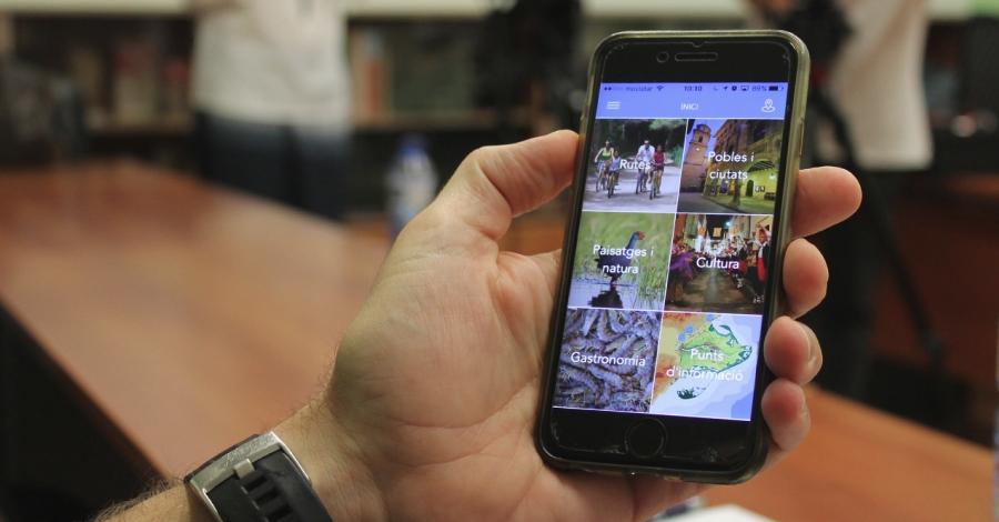 Neix l'App EbreBiosfera, l'aplicació per a mòbils i tablets de la Reserva Biosfera Terres de l'Ebre
