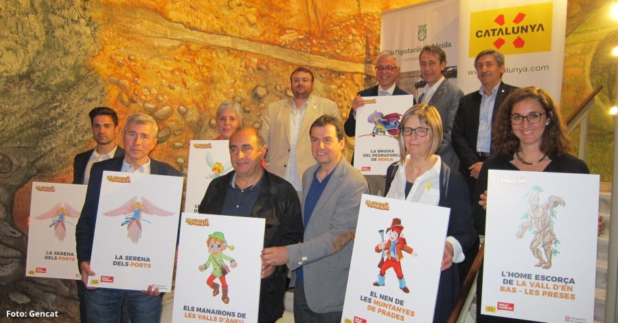 """Les sis destinacions catalanes familiars de natura i muntanya participen en l'acció """"Catalunya, Hola Família!"""", un cap de setmana d'oci i llegendes"""