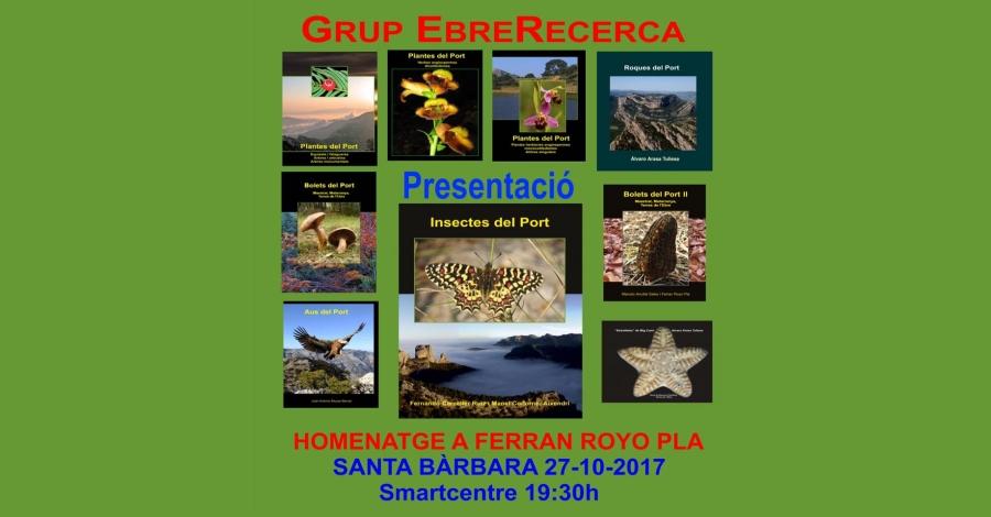 Presentació del llibre «Insectes del Port»