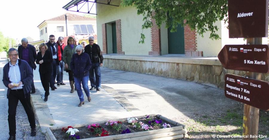 L'estació d'Aldover de la Via Verda del Baix Ebre reobre portes amb servei de bar i restaurant | EbreActiu.cat, revista digital per a la gent activa | Terres de l