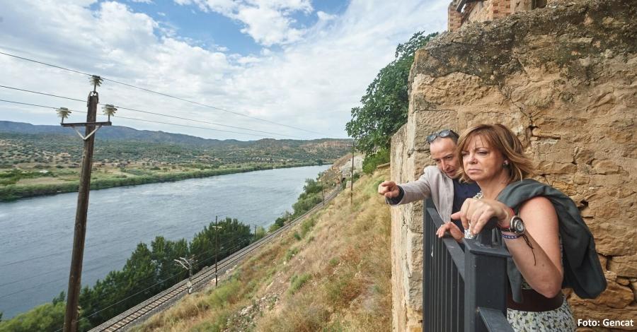 Es presenta el projecte «Ribera d'Ebre: camí de sirga, camí de riu»