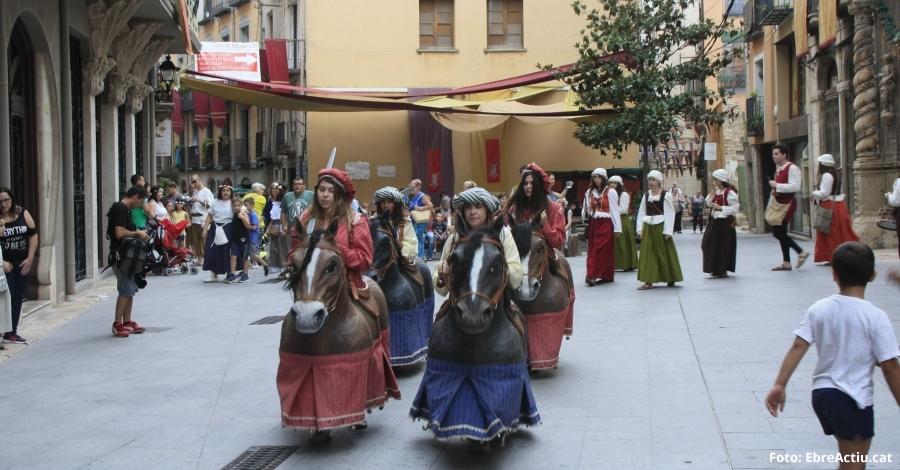 Tortosa ultima els darrers detalls per tornar al segle XVI en la XXIII Festa del Renaixement
